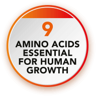 9 Amino acids essential for human growth