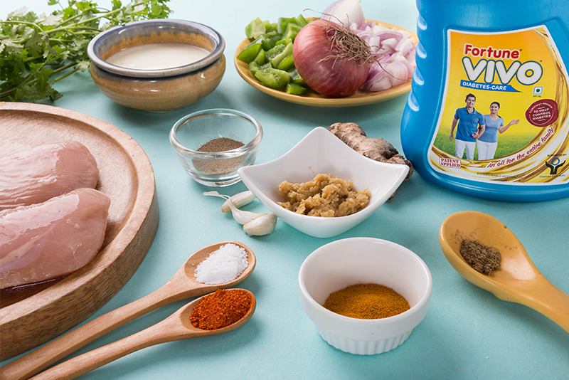 Have you got all your ingredients for chicken sukha? Here's all you need.