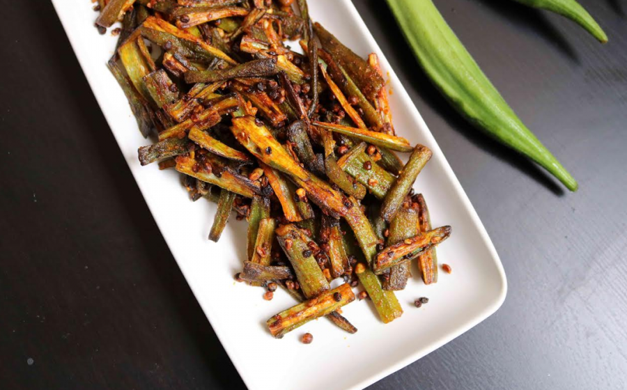 How to make non-sticky bhindi?