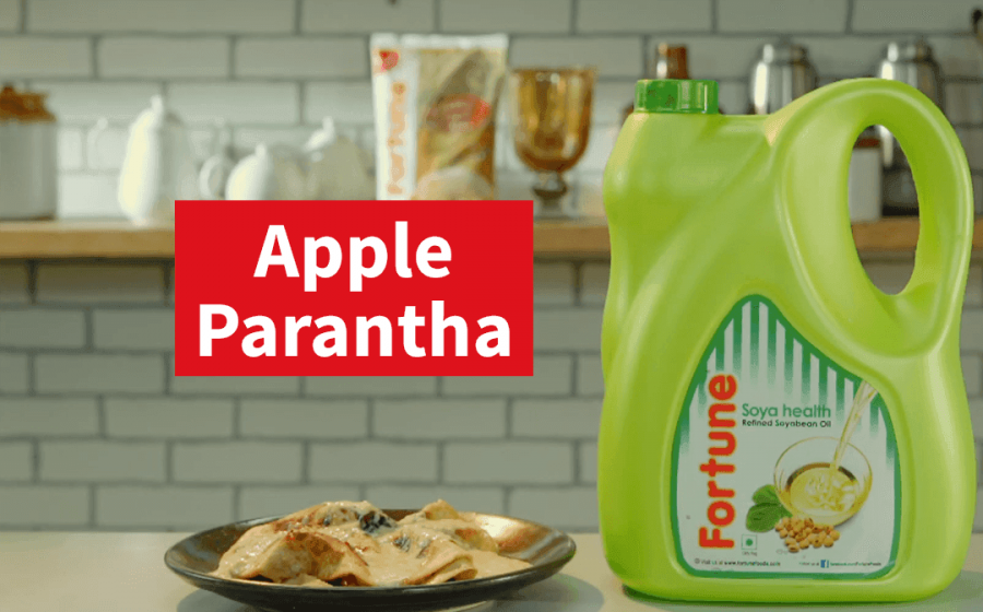 Fortune Ghar Ka Khana Recipes | Apple Paratha | Chef Harpal Singh Sokhi