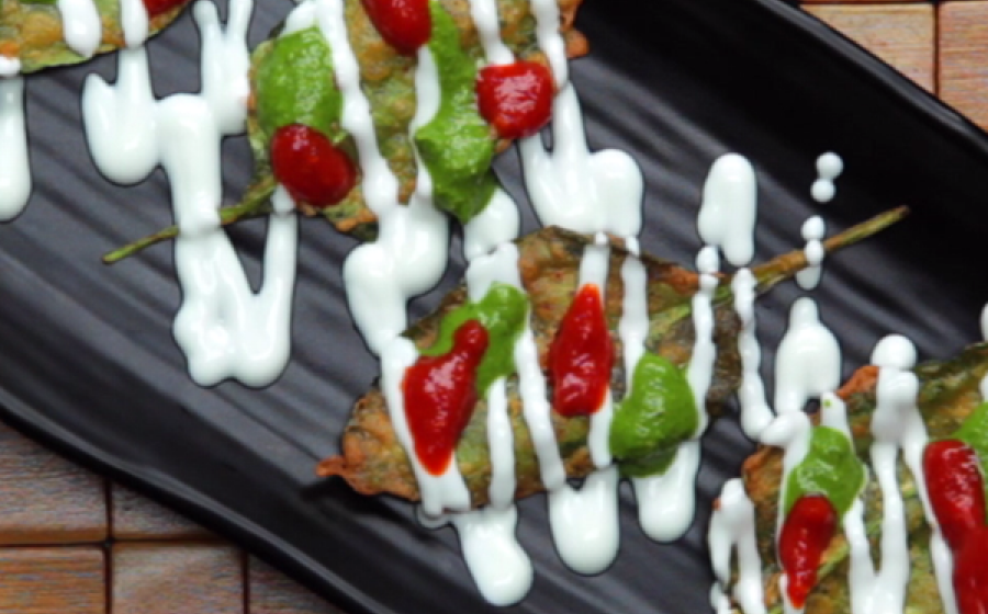 Diabetic friendly, yummy Palak Chaat by Chef Sanjyot Keer
