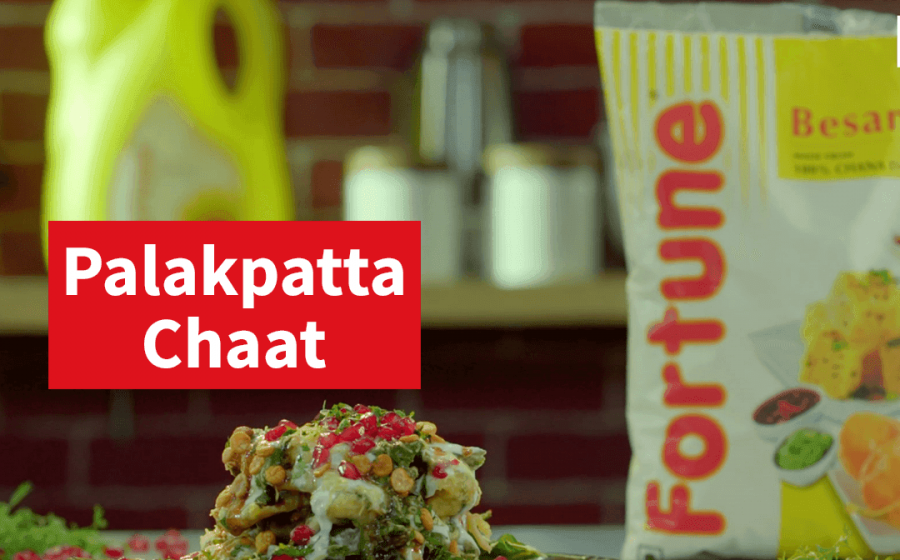 Ghar ka Khana recipes | Fortune Palak Patta Chaat | Chef Ajay Chopra