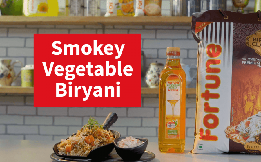 Fortune Biryani Nation | Smokey Vegetable Biryani | Chef Shivani Mehta