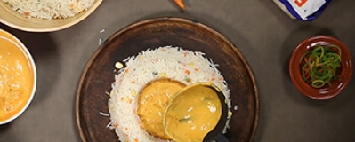 Rice Plating Style #2 : Curry in a hurry