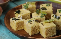 Achieve light and moist Dhoklas in a jiffy