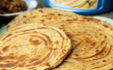 Layering your lachcha parathas the Punjabi way