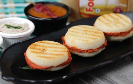 How to make a soft Mysore Idli  Sandwich without an idli steamer