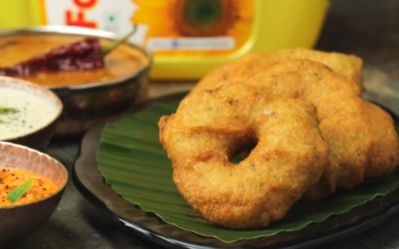 How to make medu vada extra crispy and crunchy?
