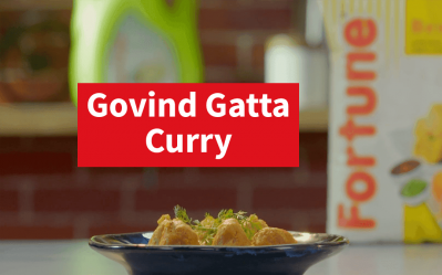 Fortune Scrumptious Recipes | Govind Gatta Curry | Chef Ajay Chopra
