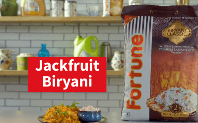 Fortune Biryani Nation | Jackfruit Biryani | Chef Pranav Joshi