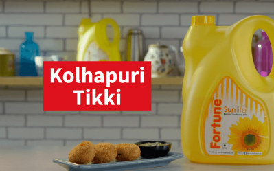 Fortune Sunflower Oil Ghar Ka Khana Recipes | Kolhapuri Tikki | Chef Pranav Joshi