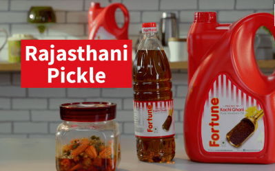 Scrumptious Recipes | Fortune Rajasthani Pickle | Chef Pallavi Nigam
