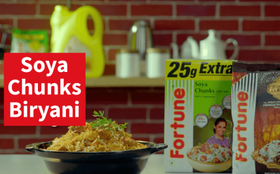 Biryani Nation | Fortune Soya Chunks Biryani | Chef Ajay Chopra
